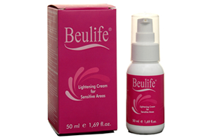 beulife lightening cream for sensitive areas